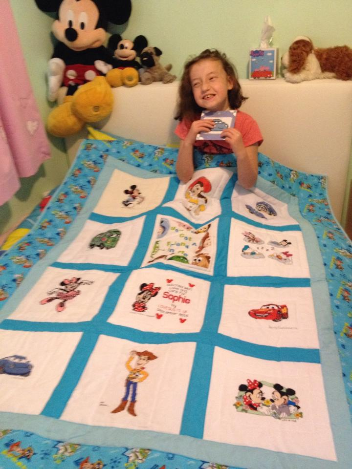 Photo of Sophie T's quilt