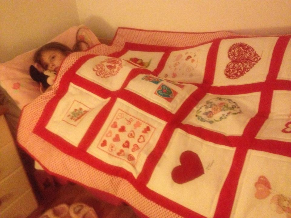 Photo of Casey-Beau's quilt