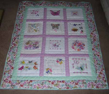 Photo of Harriet M's quilt
