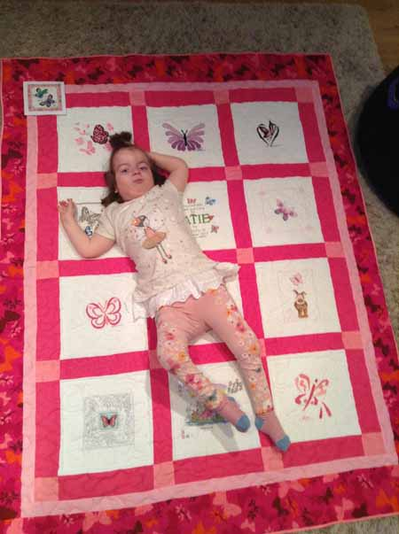 Photo of Katie J's quilt