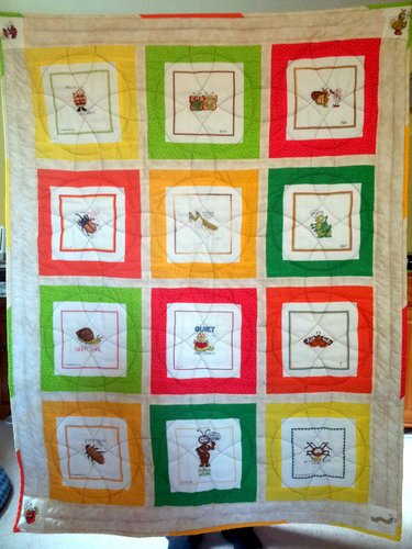 Photo of Henry A's quilt