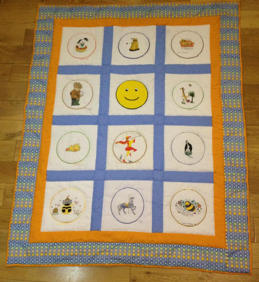 Photo of Circles quilt