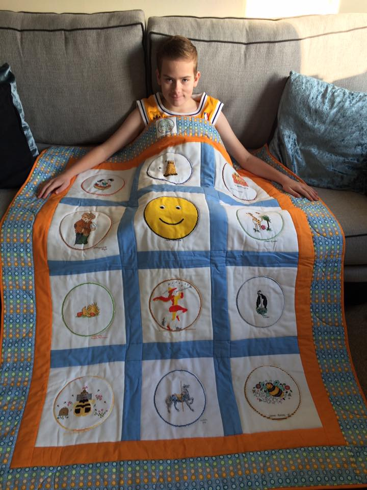 Photo of Andrew C's quilt
