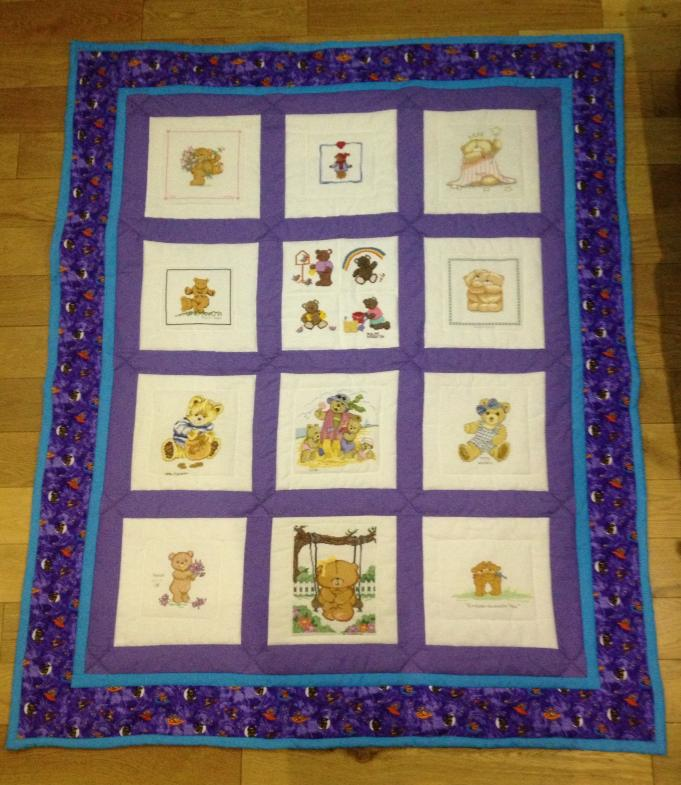 Photo of Jenson O's quilt