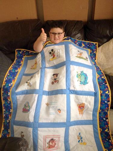 Photo of Mason F's quilt