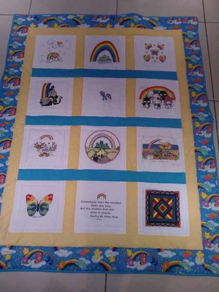 Photo of Rainbow Quilt