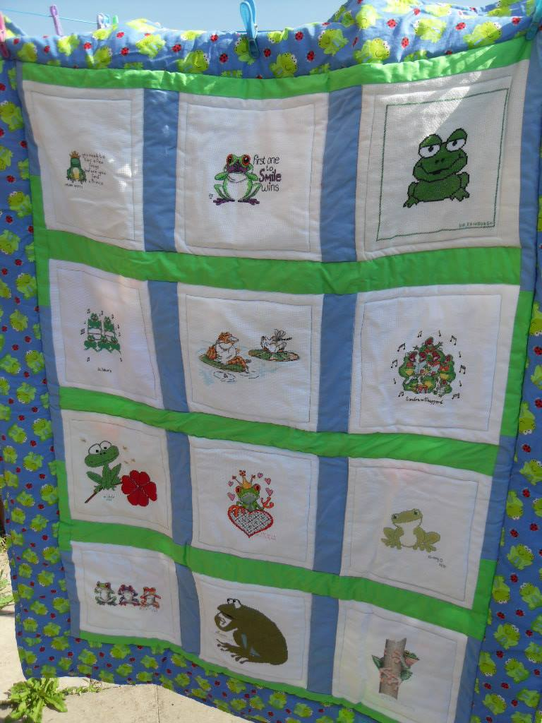 Photo of Frogs's quilt