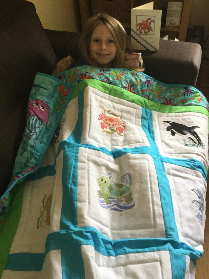 Photo of Isla W's quilt