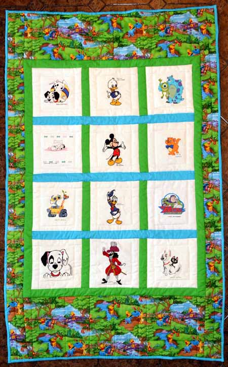 Photo of General Disney's quilt