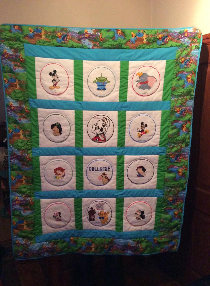 Photo of Disney Circles's quilt