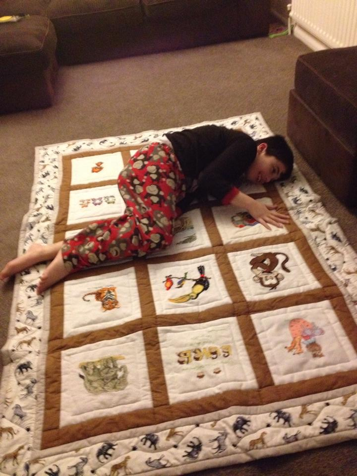 Photo of Luke B's quilt