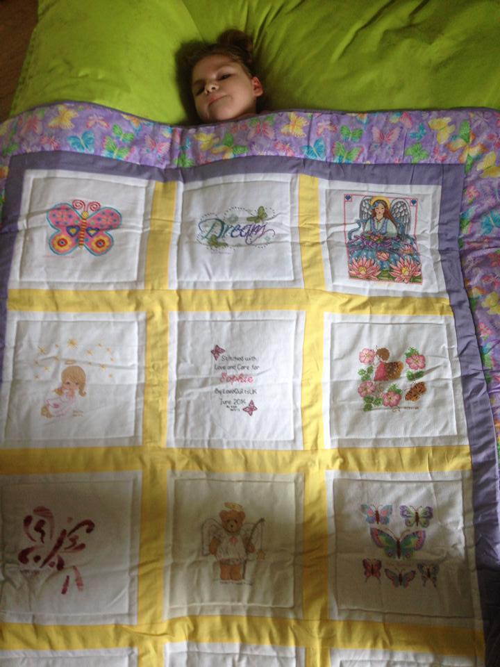 Photo of Sophie M's quilt