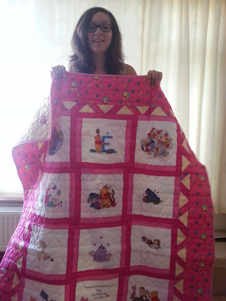 Photo of Éloise's quilt