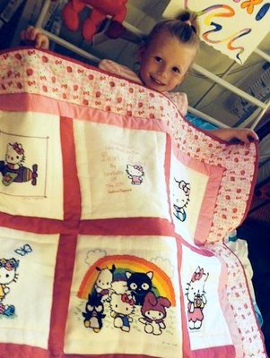 Photo of Lexi-May's quilt