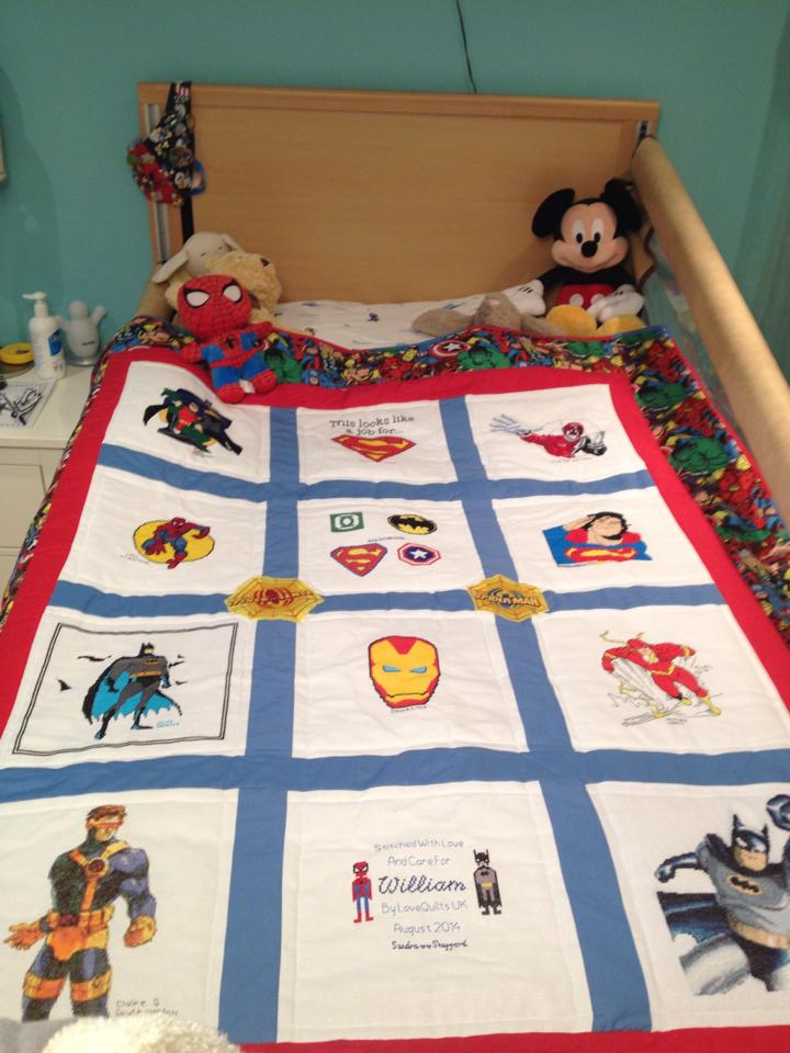 Photo of William M's quilt