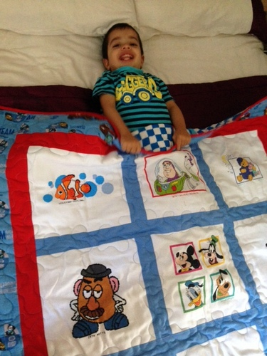 Photo of Zayn S's quilt