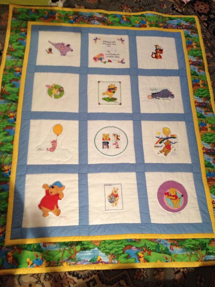 Photo of Ri's quilt