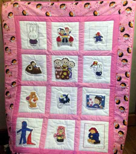 Photo of (QUILTED) Young Characters's quilt