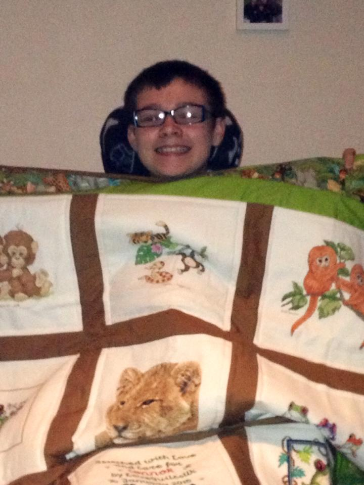 Photo of Connor S's quilt