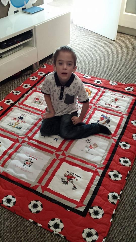 Photo of Ben B's quilt