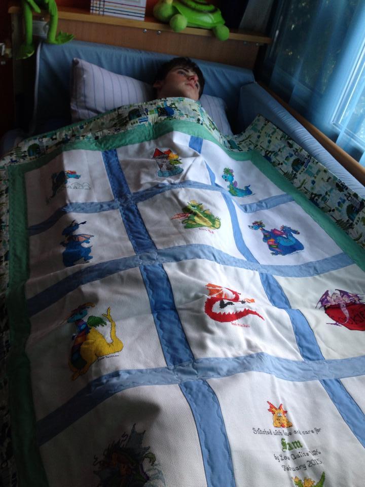 Photo of Sam R's quilt