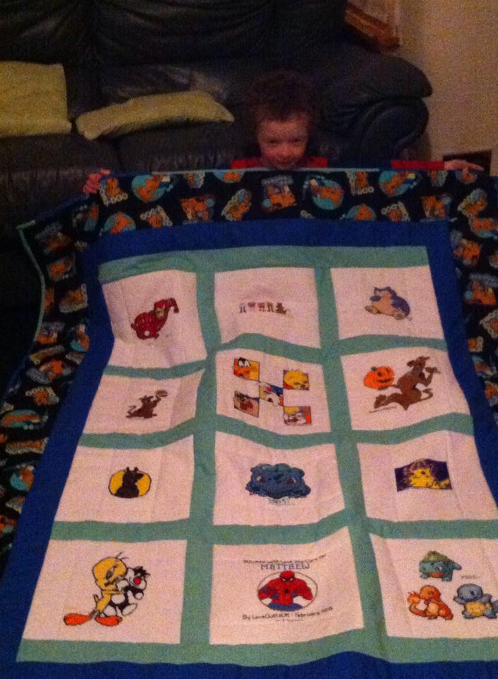 Photo of Matthew C's quilt