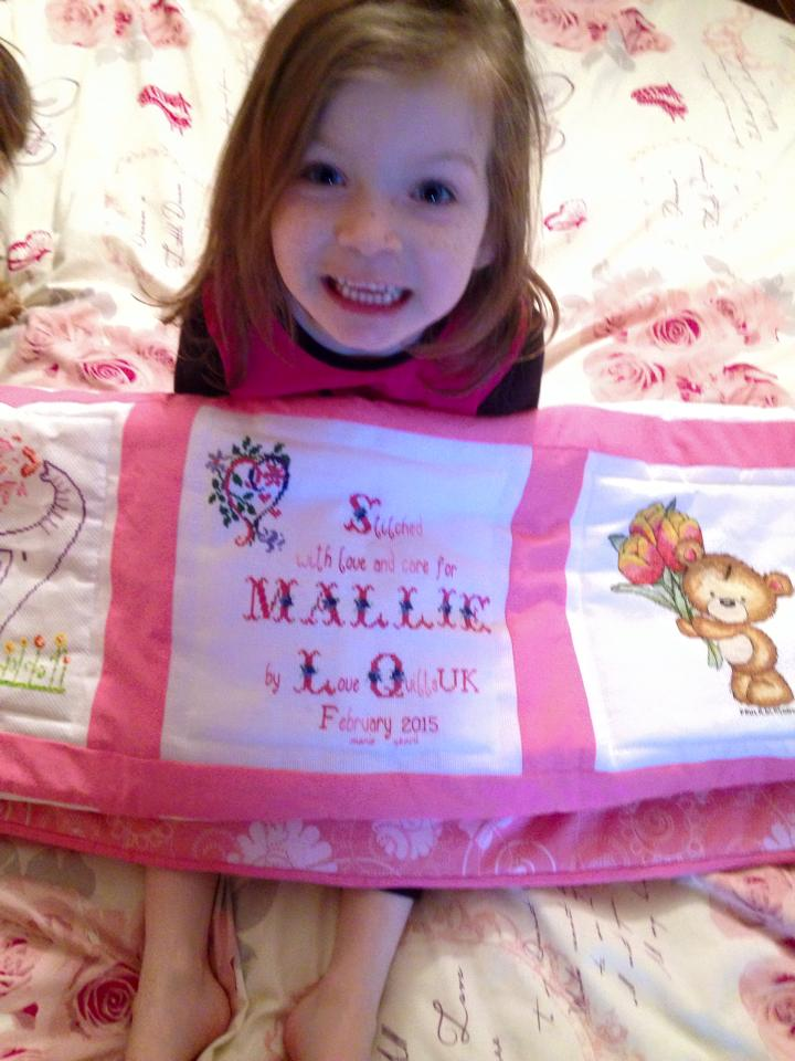 Photo of Mallie W's quilt
