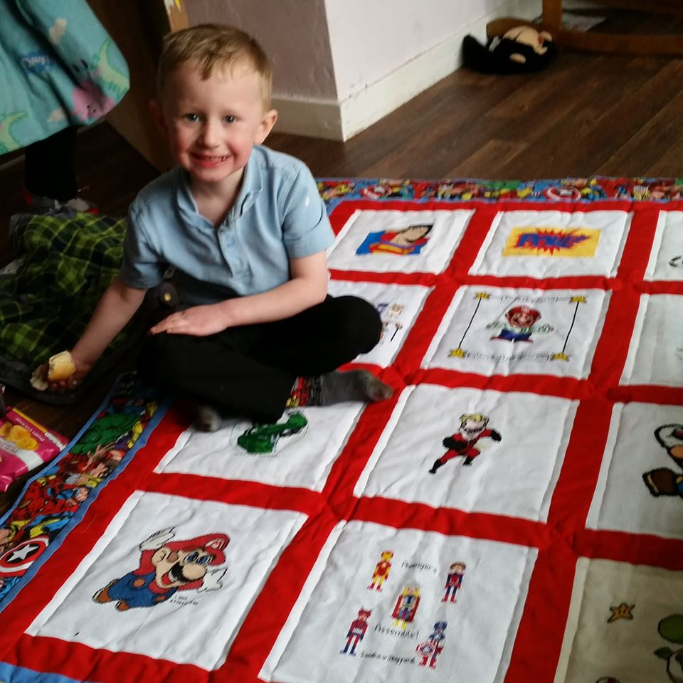Photo of Jayden W's quilt