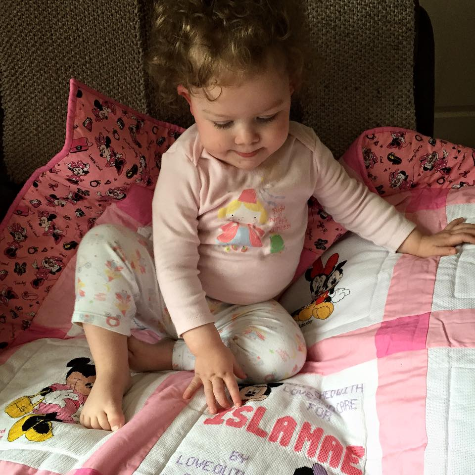 Photo of Isla Mae's quilt