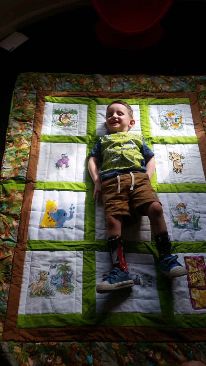 Photo of Alfie H's quilt