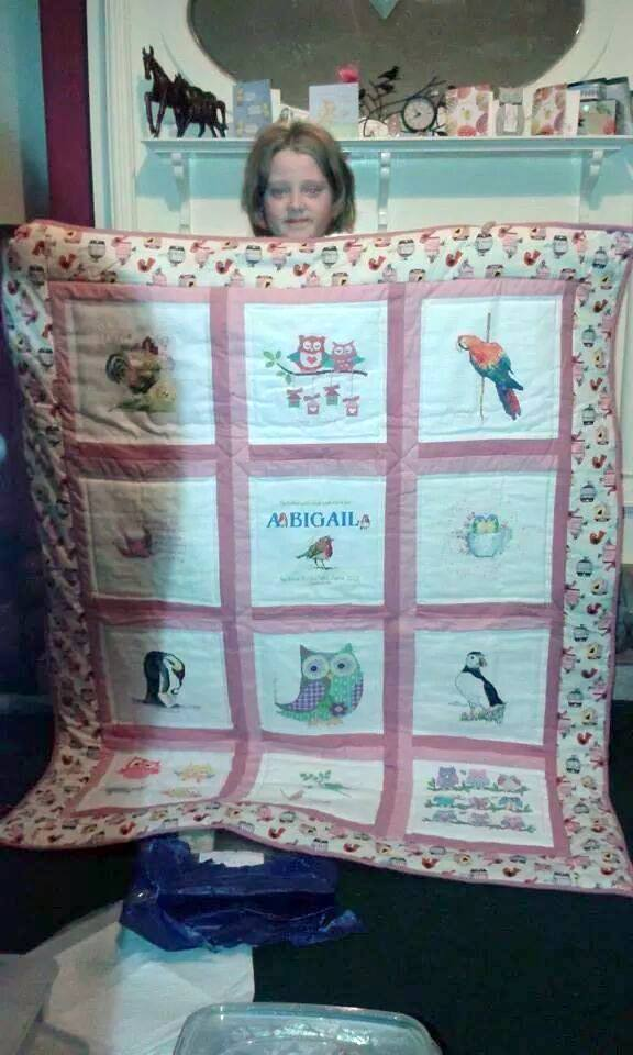 Photo of Abigail E's quilt