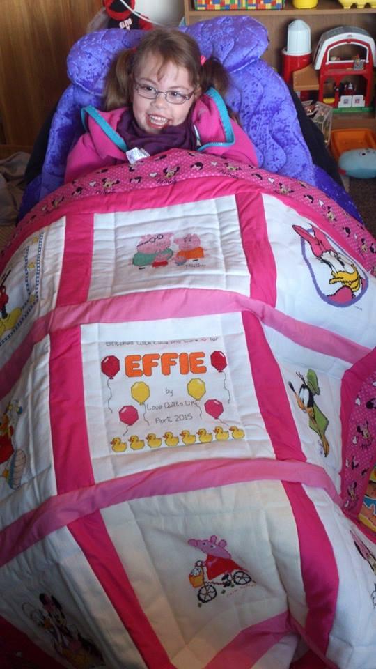 Photo of Effie H's quilt