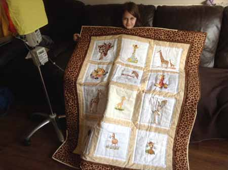 Photo of Bethany H's quilt