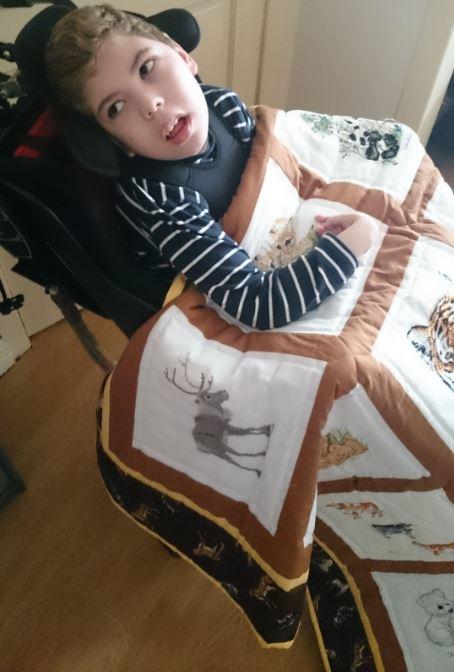 Photo of Alfie J's quilt