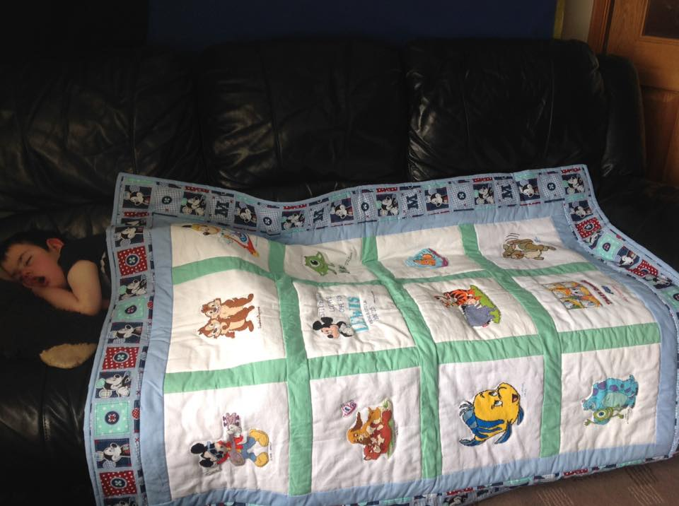 Photo of Lewis M's quilt