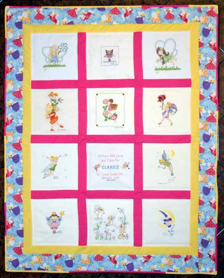 Photo of Clarice P's quilt