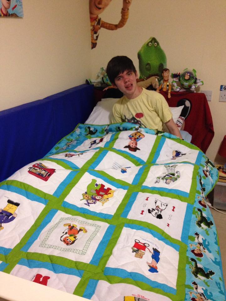 Photo of George D's quilt