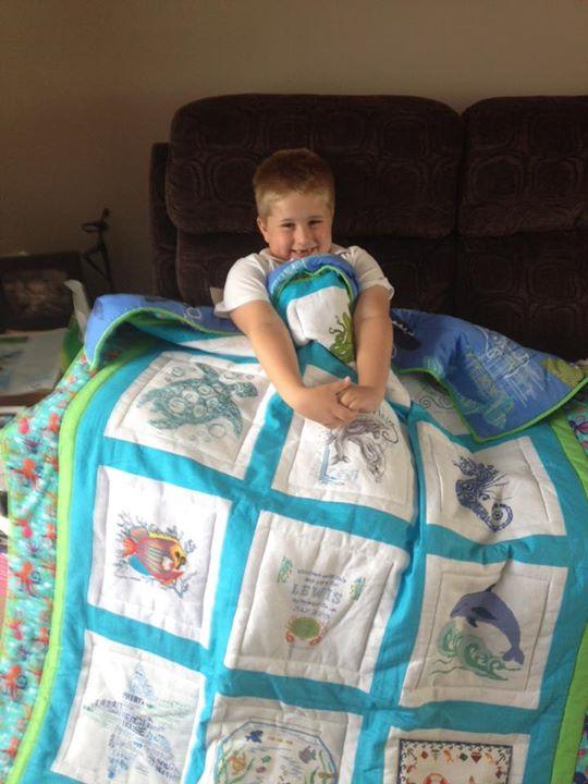 Photo of Lewis C 2's quilt