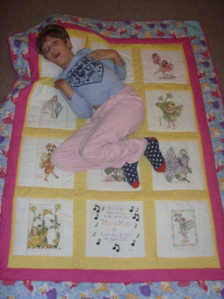 Photo of Maisy Hope's quilt