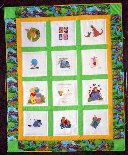 Photo of Thomas B's quilt