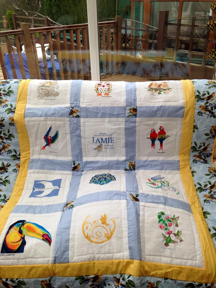 Photo of Jamie W's quilt