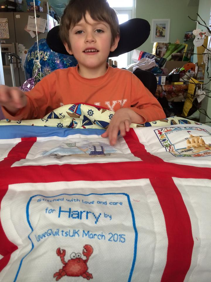 Photo of Harry R's quilt