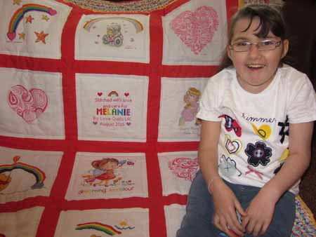 Photo of Melanie M's quilt