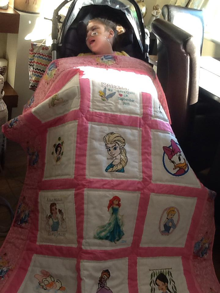 Photo of Isabella E's quilt