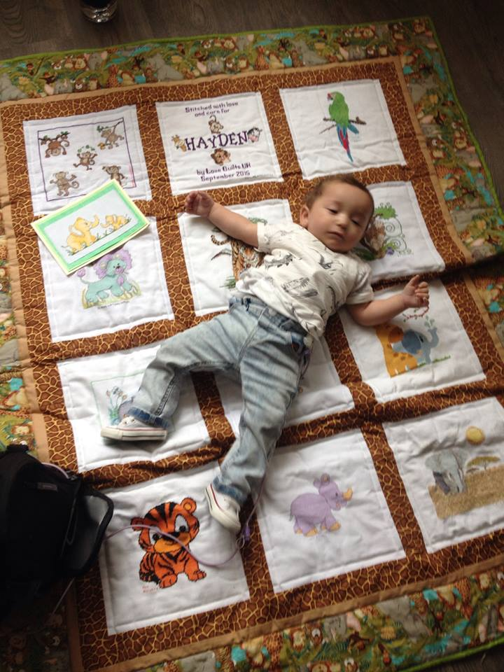 Photo of Hayden C's quilt