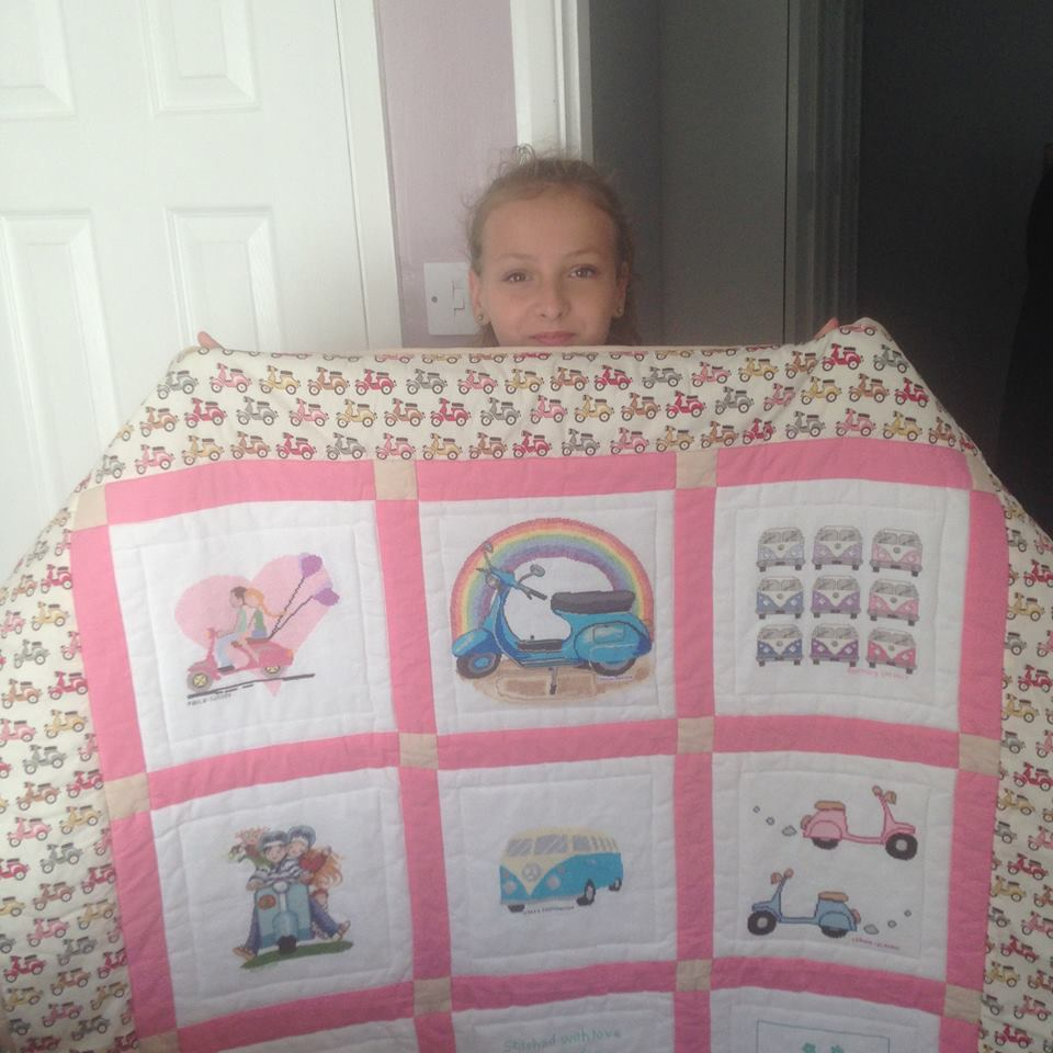 Photo of Charlotte A's quilt