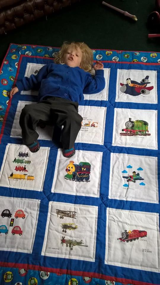 Photo of Eric A's quilt