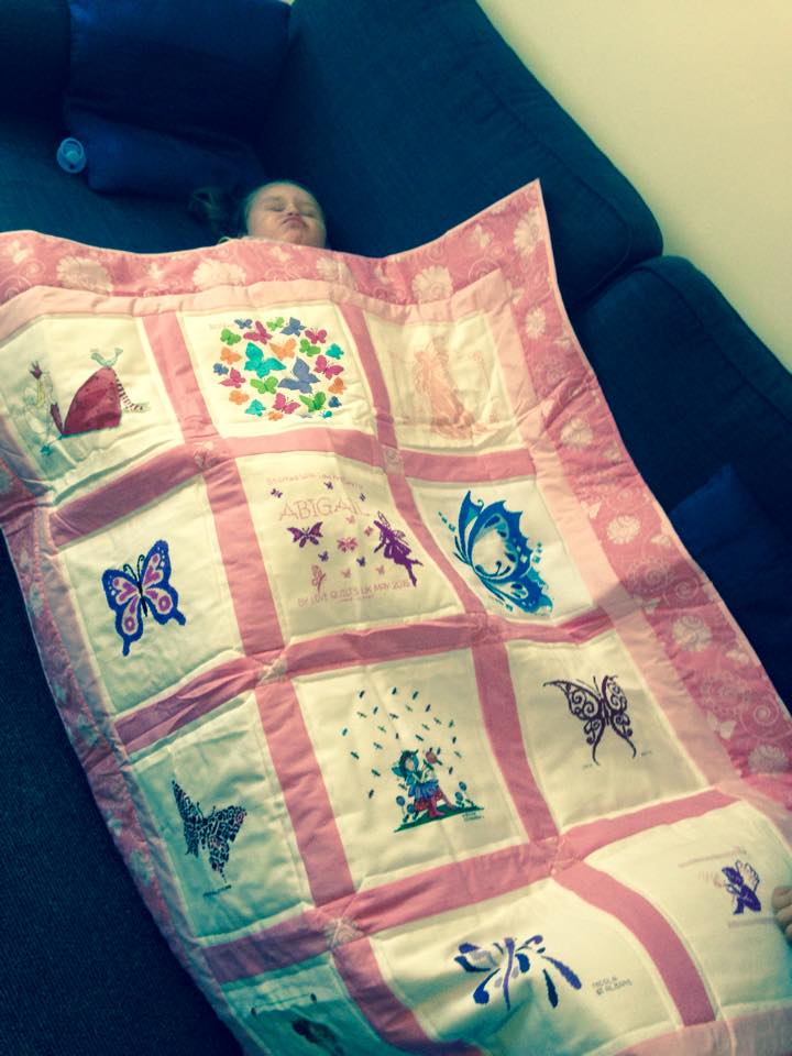 Photo of Abigail H's quilt