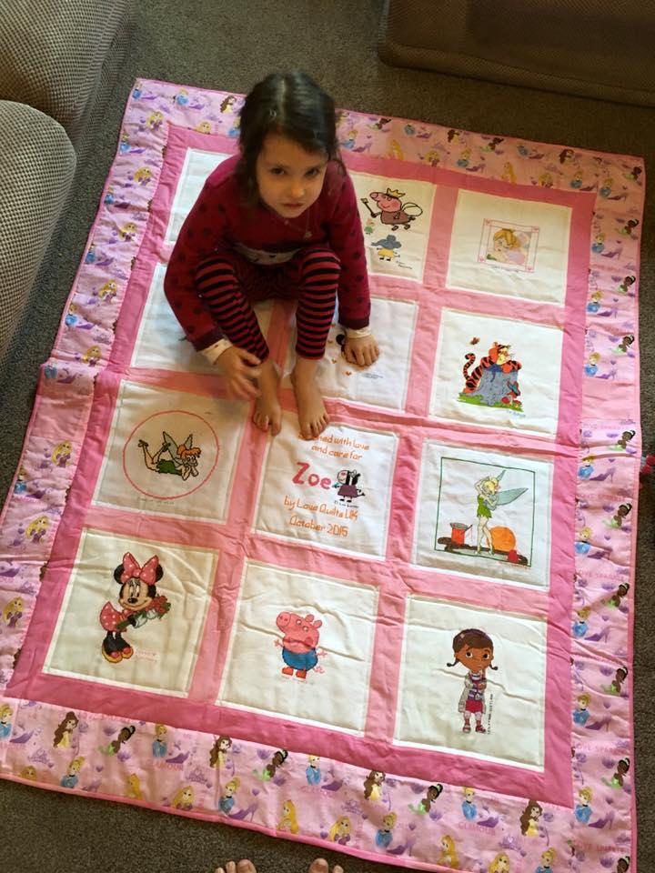 Photo of Zoe C's quilt