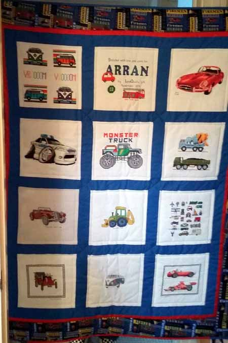 Photo of Arran P's quilt